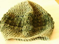 Γυναικείος σκούφος με κουκουτσάκι - Puff stitch slouchy beanie