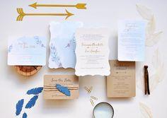 Smitten on Paper -- wedding invites, save the dates, custom signage