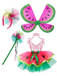Watermelon Collection Tutu Set by Just Pretend Kids #Halloween  sc 1 st  Pinterest & 11 best Flower school costumes images on Pinterest   Costume ideas ...