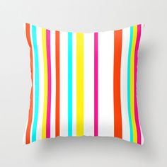 Items similar to Throw Pillow Cover, Candy Stripes, Color Block, Accent Pillow on Etsy Pink Pillow Covers, Outdoor Pillow Covers, Pink Pillows, Decorative Pillow Covers, Patio Pillows, Outdoor Throw Pillows, Funny Teacher Gifts, Presents For Teachers, Textiles