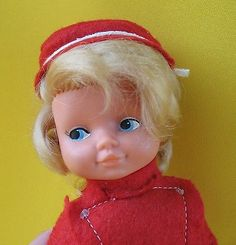Vintage-DOLL-GDR-Rubber-Toy-East-Germany-DDR-AHG-Cute-Girl-Doll