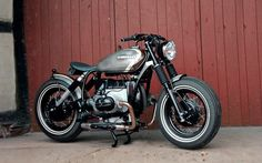 BMW R100 Bobber by HB-Custom #motorcycles #bobber #motos | caferacerpasion.com