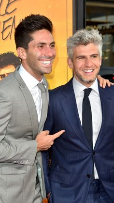 """Nev Schulman and Max Joseph attend the premiere of """"We Are Your Friends"""" August 2015 in Hollywood, California. Catfish Tv, Catfish The Tv Show, Hollywood California, In Hollywood, Nev Schulman, Matt Willis, August 20, Tom Hanks, True Crime"""