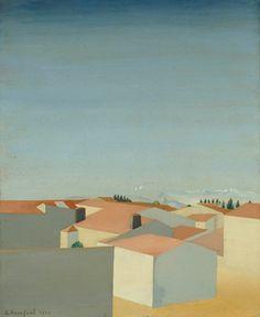 Amédée Ozenfant French, 1886–1966, Landscape (Bordeaux II)