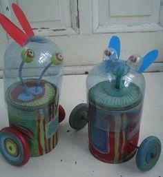 Ideas para hacer juguetes con material reciclado - Vida Lúcida