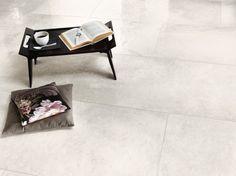[ Younhyun Tile / 윤현상재 타일 ] Exposed Concrete Style Tile : Chambord Ivory / Size (cm) : 60.5X60.5 , 60X90