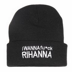 I Wanna Fuck Riha... http://www.jakkoutthebxx.com/products/2016-winter-beanie-i-wanna-fuck-rihanna-fashion-style-beanie-for-men-and-women-skull-hat-warm-cap-gorros-bonnets-for-fashion-men-black?utm_campaign=social_autopilot&utm_source=pin&utm_medium=pin #newclothingline #shoppingtime #trending #ontrend #onlineshopping #weloveshopping #shoppingonline