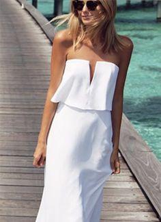 i vestiti bianchi per la nostra estate