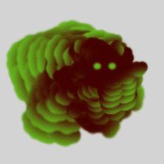 Loopism: Illustrator and Animator Ori Toor Illustration Techniques, Illustration Art, Green Characters, Cool Optical Illusions, Gif Art, Illustrator Cs6, Funny Gifs, Motion Design, Flu