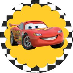 Car Themed Parties, Cars Birthday Parties, Birthday Party Decorations, Boy Birthday, Cars Birthday Invitations, Happy Birthday Banners, Art Festa, Lightening Mcqueen, Disney Cars Birthday