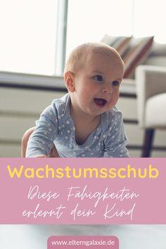 Wann kommt der nächste Wachstumsschub? | Was können Babys nach einem Wachstumsschub? | Wie äußert sich ein Wachstumsschub? | Wie können Eltern Babys während eines Wachstumsschubes unterstützen? | krabbeln nach Wachstumsschub | laufen lernen | krabbeln lernen | kindliche Entwicklung | Entwicklungssprung | Schub Baby | Tipps & Tricks | Tipps für Eltern | Erfahrungen | #wachstumsschub #schub Tricks, Babys, Life Hacks, Face, Child Development, Game Ideas, Parents, School, Kids