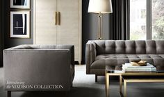 Madison Fabric Sofa Collection | RH