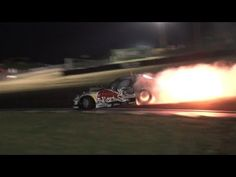 Mad Mike RedBull RX7 - Spitting Flames With No Exhaust - Team NZ Promo 2012 - YouTube