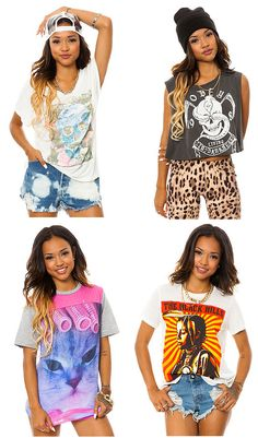 Karrueche Tran Models Summer Picks for Karmaloop.com