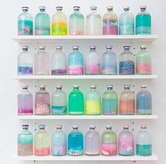 Картинка с тегом «bottle, colors, and pastel»