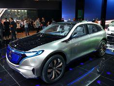 Mercedes-Benz Generation EQ: Мерседес бросает вызов Tesla Model X