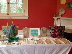 Cindy's Trunk Show Display