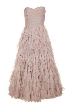 Naf Naf Paris Robe Bustier Enchanteresse en Tulle - Nude...Prom dress 2014? I'm in love with this dress!!!!!!!!!