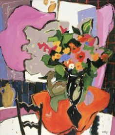 Claude A. Simard Bouquet, Canadian Artists, Pictures To Paint, Beautiful Paintings, All Art, Flower Art, Still Life, Images, Artsy