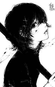 doodle, Tokyo Ghoul: re, Juuzou Suzuya / Kaneki and Shizo-pixiv Juuzou Tokyo Ghoul, Ken Tokyo Ghoul, Juuzou Suzuya, Kaneki, Manga Tokio Ghoul, Tokyo Ghoul Manga, Dark Anime, Fanarts Anime, Anime Characters