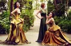 Downton Abbey dames, looking fiiine.