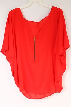 Persimmon Evelyn Tunic | Awesome Selection of Chic Fashion Jewelry | Emma Stine Limited