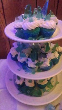 Frozen inspired cupcakes