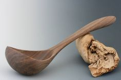 Your place to buy and sell all things handmade Wooden Ladle, Wooden Bowls, Wooden Spatula, Butcher Block Conditioner, Lathe Projects, Wood Projects, Bowl Turning, Carved Spoons, Big Dipper