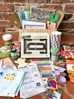 Win Craft Supplies - Mystery Box Giveaway! - The Country Chic Cottage