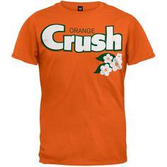 Orange Crush - Floral Logo T-Shirt