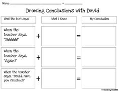 math worksheet : 1000 images about drawing conclusions on pinterest  drawing  : Drawing Conclusions Worksheets For Kindergarten