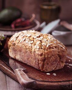 Bezglutenowy chleb owsiany na zakwasie