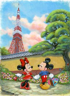 Minnie's New Outfit - by Annick Biaudet