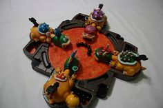 hungry hungry koopas handmade custom game.  How cool is this?