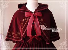 *Lolita Dream* Magic Tea Party Ray of Christmas Morning KC  color:  (stock) dark green            (pre-order) wine red/black/