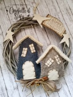 Woolen Christmas Decorations by Cosebelle Di Stefy
