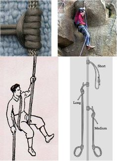 A Long-Term Survival Guide - 101 Uses for Paracord | Scott's going to go crazy over this. He had a paracord man crush.