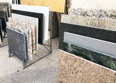 Granite remnants are pieces that have been cut from larger slabs on our lot. These pieces of granite work great for smaller sized countertops. Our display racks make finding a perfect piece very convenient Small End Tables, Small Coffee Table, Granite Remnants, Marble Countertops, Fort Myers, Counter Tops, Great Deals, Entryway Tables, Larger