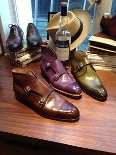 Saint Crispin handmade mens shoes #menswear #shoes