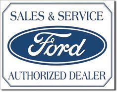 ford logo sign