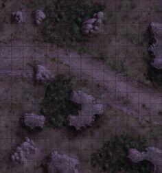 forest rpg maps night fantasy battlemap map dungeon road battle cave game tiles battlemaps wilderness read board