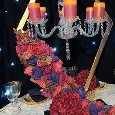Gold Wedding Centerpieces, Centrepieces, Wedding Decorations, Magenta Wedding, Event Decor, Events, Flowers, Instagram, Wedding Decor