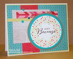 Happy to Be Friends with Heartstrings from 2014-2015 Seasonal Expressions on Nancy's CRAFTY blog