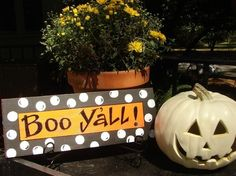 Boo   ...Southern greeting