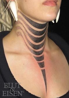 neck ink and tribal tats aren't for me but this one is particularly nice. Hannes at Blut & Eisen (blutundeisen.de)