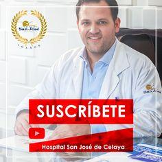 Suscríbete a nuestro canal de Youtube y conoce nuestro contenido audiovisual.  #PorqueTuSaludEsPrimero #RegresoSaludable  http://www.hsanjosecelaya.com/