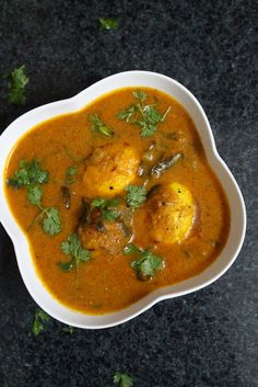 South Indian Egg Curry is a recipe made with eggs and spices in south indian style where this kind of egg curry is found in various regions across south india. #eggrecipes #yummyindiankitchen