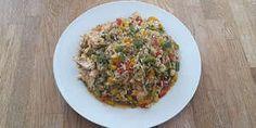 Hähnchen mit Paprika und Reis auf Kochen-verstehen.de