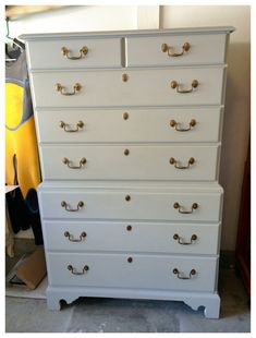 American Pennsylvania Chippendale Cherry Chest by SimonSaysSalvage, $350.00