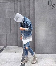 #OutfitSociety via @blvckxculture Presents @rmeodlfmadmf comment below  on the fire outfit:  Hoodie - Vetements  Tee - Marag  Jacket - Kustom  Jeans - Fear of God Shoes - Yeezy Boost 750